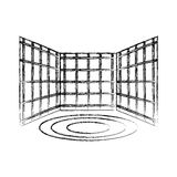 Virtual reality screens icon Royalty Free Stock Images