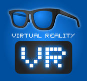 Virtual Reality sign Royalty Free Stock Photo