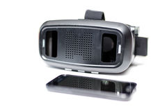 Virtual reality VR glasses Stock Photo