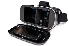 Virtual reality VR glasses Royalty Free Stock Photos
