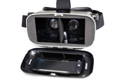 Virtual reality VR glasses Royalty Free Stock Image