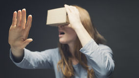 Virtual Reality - VR Goggles Royalty Free Stock Photography