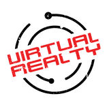 Virtual Realty rubber stamp Royalty Free Stock Photography