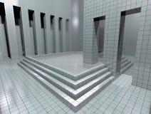 Virtual room Royalty Free Stock Photo