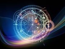 Virtual Sacred Geometry Stock Images