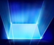 Virtual screen. Vector illustration. Royalty Free Stock Photos
