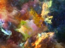 Virtual Space Stock Photo