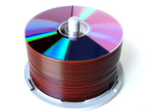 Virtual storage. Disks stock images