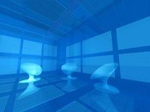 Virtual studio Stock Image