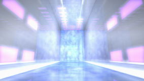 Virtual studio music stage set. stock footage