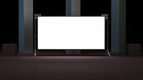 Virtual studio set 3d render Royalty Free Stock Images