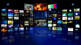 Virtual studtio background of video stock video