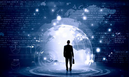 Virtual technologies Stock Images