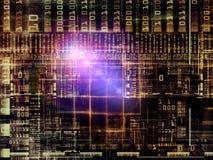 Virtual Technology Links Stock Photography