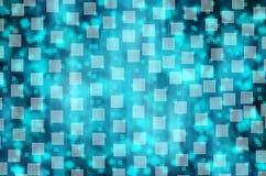 Virtual technology space  background. Virtual technology space rectangle  background from light to dark blue Royalty Free Stock Photo