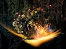 Virtual Technology Royalty Free Stock Photography