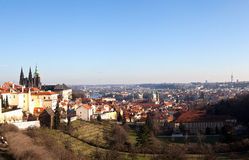 Virtual tour of Prague. Czech Republic. Royalty Free Stock Photo