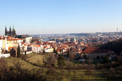 Virtual tour of Prague. Czech Republic. Stock Photos