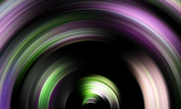 Virtual tunnel background Stock Image