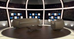 Virtual Tv Chat Set 20.  Royalty Free Stock Image