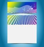 Virtual vector presentation gallery Stock Photo