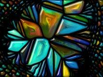 Virtualisatie van Glas Stock Afbeelding