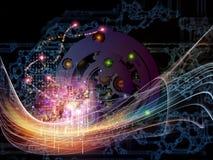 Virtualisatie van Toestellen Stock Foto