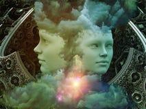 Virtualisation de rêve Image libre de droits