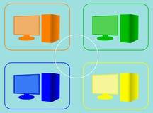 Virtualisierung Stockfoto