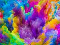 Virtualisierung von Farben Stockfotografie