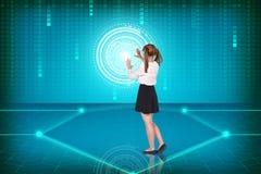 Virtuality zdjęcia stock