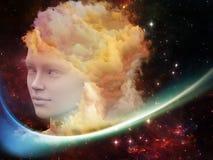 Virtualização do sonho Fotografia de Stock Royalty Free