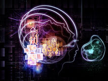 Virtualization of Consciousness Stock Photos