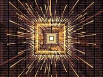 Virtualization of CPU Stock Photos