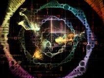 Virtualization of Data Cloud Stock Photography