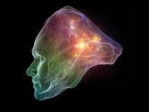 Virtualization of Intellect Royalty Free Stock Image
