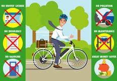 Virtudes de una bicicleta eléctrica libre illustration