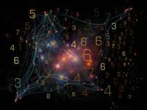 Virtueel Netwerk Stock Fotografie