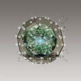 Virtueel pictogram van sociaal netwerk Royalty-vrije Stock Afbeeldingen