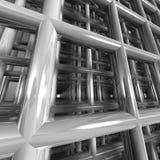 Virtuele architectuur Stock Afbeelding
