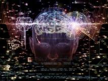 Virtuele Encryptie royalty-vrije illustratie