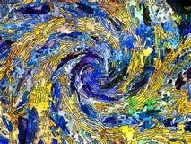 Virtuele Kleurenafdeling Stock Afbeelding