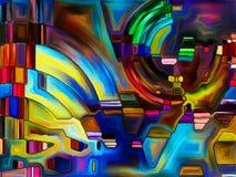 Virtuele Kleurenafdeling Stock Foto's