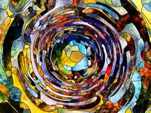 Virtuele Kleurenafdeling Stock Afbeeldingen