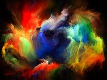Virtuele Kleurenmotie royalty-vrije illustratie