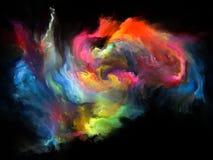 Virtuele Kleurenmotie vector illustratie