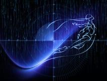 Virtuele Meetkunde Stock Afbeeldingen