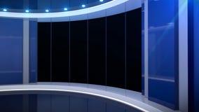 Virtuele studiovensters stock illustratie