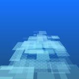Virtuele technologieachtergrond vector illustratie