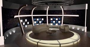 Virtuele TV-Praatjereeks 20 Royalty-vrije Stock Fotografie